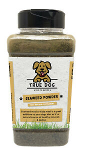 Seaweed Powder for Dogs- 700g Shaker Tub-100% Natural Supplement for Dogs & Cats