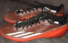 Adidas Adizero 5 Star 3.0 Football  Cleats Orange & Black Size 13 Men's