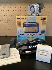 Sony Handycam DCR-DVD200 Camcorder Mini DVD IN ORIGINAL BOX & Video Filter Kit