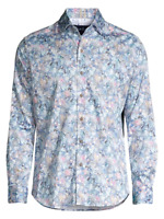 Robert Graham 3XL $168 KAIDEN TIGER LILY Sport Shirt Tailored Fit, NWT L/S
