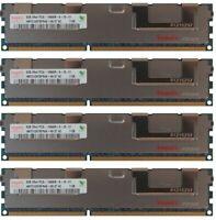 32GB 4 x 8GB for DELL POWEREDGE T410 T610 R610 R710 R715 R810 R720xd Memory RAM