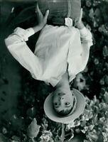 Portrait of Elsa Martinelli. - 8x10 photo