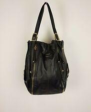 Tod's Womens Brown Leather Handbag Shoulder Bag