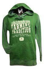 John Deere Womens Farming Tradition Hoodie New S