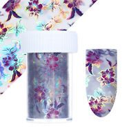 Holographisch Starry Nagelfolie Nail Art Folie Holo Nagel Stickers Maniküre Tips