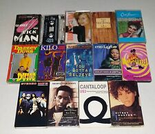 Cassette Lot:  Choose Any Four    Rap Hip Hop R&B    Pick Any Four   Select 4