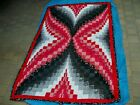 New Patchwork Handmade Quilt  Blanket Throw 70x42 or wall hanging