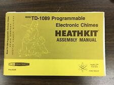 Heathkit TD-1089 original manual