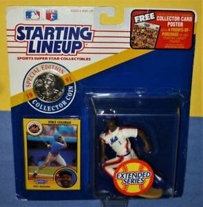 1991 ext  VINCE COLEMAN #1 sole New York Mets * FREE s/h * final Starting Lineup