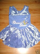 Girl Dance Ice Skating Outfit Dress Tinkerbell-Xs-4-6