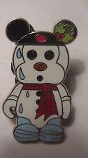 Disney Pin Limited Release Vinylmation Snowman By Walt Disney World 2009  pin512
