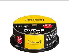 Intenso DVD+R 16x Speed 4,7GB 120 Minuten DVD Rohlinge Brenner 25er Spindel