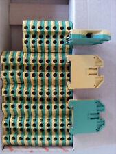 40 Stk. Weidmüller WPE 16 Reihenklemme, PE-Klemme, 16mm² AWG 14 - 6, 101040 0000
