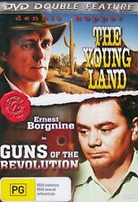THE YOUNG LAND- DENNIS HOPPER/ GUNS OF THE REVOLUTION- DOUBLE FEATURE DVD