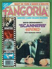 #LL. FANGORIA HORROR MOVIE  MAKEUP MAGAZINE #10, JANUARY 1981