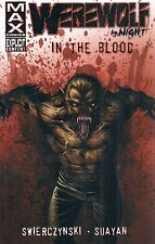Werewolf by Night: In the Blood  Swierczynski 2009 TPB Dead of Night Marvel MAX