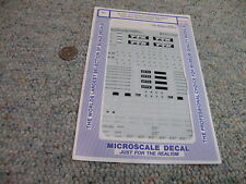 Microscale  decals HO 87-732 TTX Thrall 4 unit double stack carsdraw bar  M21