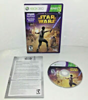 Kinect Star Wars Microsoft Xbox 360 Complete CIB Canadian Seller Gaming Games