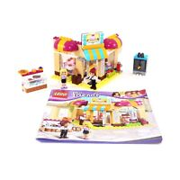 LEGO Friends Downtown Bakery Set 41006 Complete with Instructions No Box