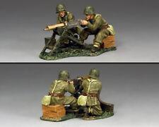 KING & COUNTRY FIELDS OF BATTLE FOB167 POLISH INFANTRY MACHINE GUN TEAM MIB