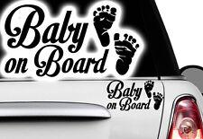 1x Aufkleber BABY ON BOARD Sticker Hangover Baby Auto Kind fährt mit FUN Kind xx
