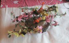 Jardinière de fleurs en verre teinté