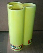 Porte paille RICARD céramique jaune