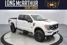 2021 Ford F-150 Black Widow Lifted Crew 4x4 Moonroof Leather