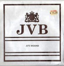 JVB Single Roundwound Bass Guitar String .075 Gauge