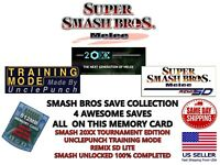 20XX + UnclePunch + SD Remix + Unlocked Super Smash Bros Melee Combo Pack