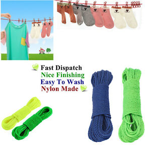 1pc x strong 10m  washing clothes thick rope line garden laundry dryer*RoP