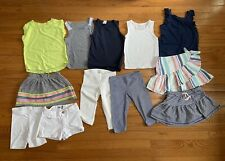 12 Piece Mix And Match Outfit Lot Girls Size 4/5 Gap Jcrew Crewcuts Cat And Jack