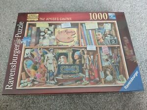 Ravensburger - Artist's Cabinet - 1000 Piece Jigsaw Puzzle - New & Sealed