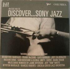 Discover...Sony Jazz Sampler