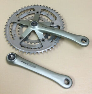 SHIMANO 105 CRANKSET {1057} TRIPLE 175 MM 39-53T 7, 8 OR 9 SPEED