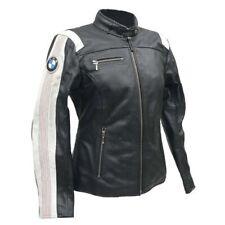Ladies BMW Motorcycle Racing Biker Leather Jacket Women Motorbike Leather Jacket