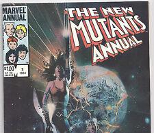 The New Mutants Annual #1 Canonball, Sunfire & Karma 1984 in F/VF con. DM