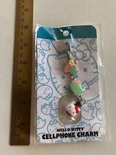 New Hello Kitty Halloween Ghost Cellphone Charm Blue Sanrio