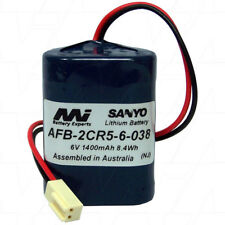 AFB-2CR5-6-038 6V 1.4Ah Lithium Battery for Zip Lavatory Auto Flush Sensors