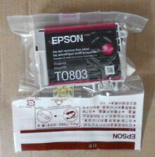 Epson T0803 Tinte magenta für Stylus Photo R265 R285 R360 RX560 RX685  PX700W