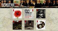 Gb 2018 Postfrisch die War 1918 Präsentation-pack 561 Briefmarken Broschüre