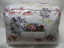 Carleton Varney 8 Piece Floral Embroidered Queen Size Comforter Set - New