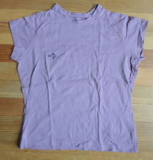 Merrell Tshirt Womens XL Organic Cotton Purple Lavender Spring Bio Blend Simple