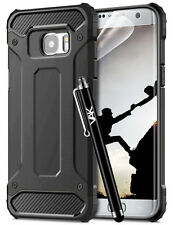 Shock Proof Heavy Duty Strong Back Case Cover for Various Samsung Galaxy Mobiles J3 2016 (j320) Black