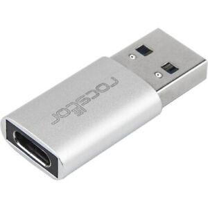 Rocstor Premium USB 3.0 to USB C Slim Aluminum Adapter - USB Type-C - 1 x Type 1