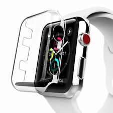 For Apple Watch Series 3 38mm Clear Hard Plastic Case Cover