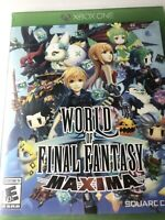 World of Final Fantasy Maxima, Xbox One *BRAND NEW, SEALED* Free Shipping