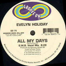EVELYN HOLIDAY - All My Days - Groove On