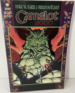 Camelot 3000 Complete DC Comics TPB by Mike W Barr & Brian Bolland 1988 1-12