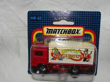 Modellauto Matchbox MB 62 - Volvo Container LKW Big Top Circus